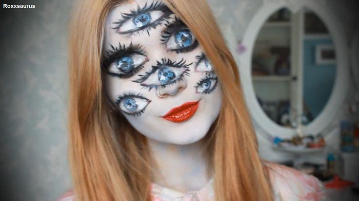 halloween many eyes