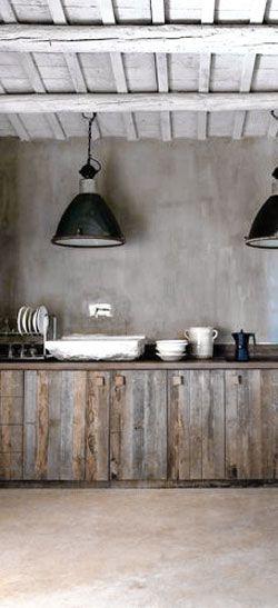 | rustic kitchen |