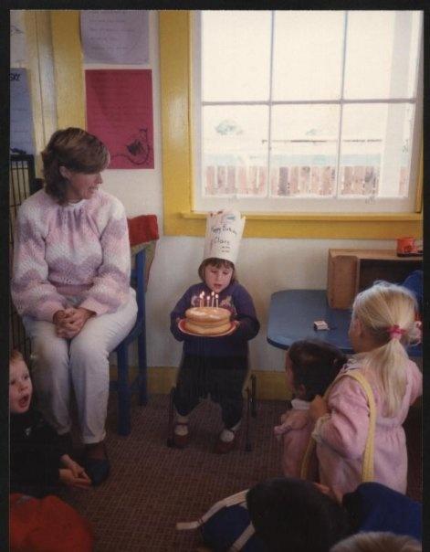 bebe claire cake
