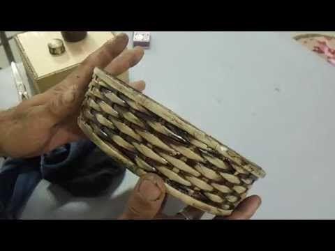 cestaria com jornal MODULO 10 - YouTube