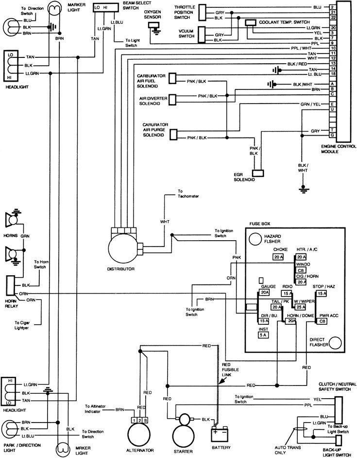 1984 Chevy Truck Wiring Diagram 2 Chevy Trucks Fuse Box Boat Wiring