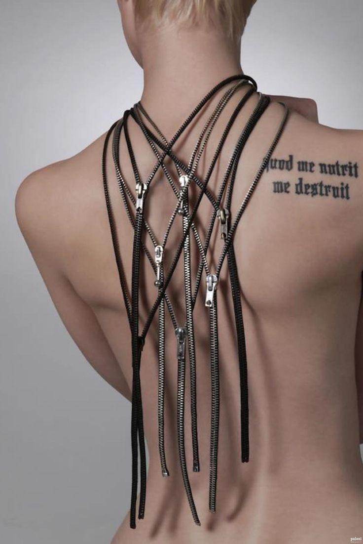 Miia Magia Design: Tirette necklace