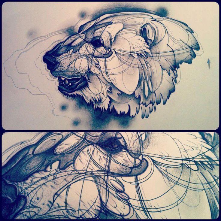 10 Best Ideas About Polar Bear Tattoo On Pinterest