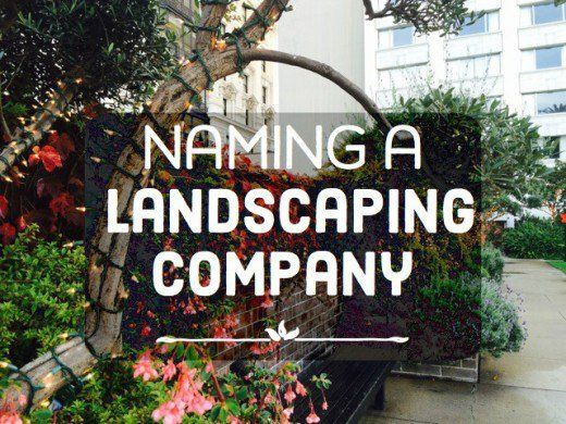 landscaping business name ideas