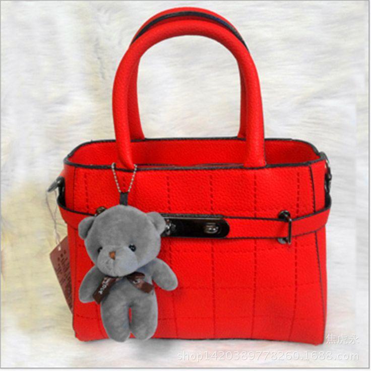 3ks / lot ženy dítě roztomilý vycpané medvídky, hračky děti mini plyšové zvířata opatřena panenky pro dívky roztomilé hračky Nejlepší dárky až 16