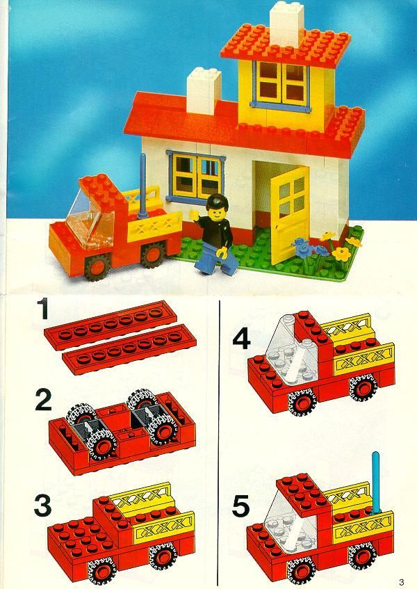 Easy Lego Car Instructions