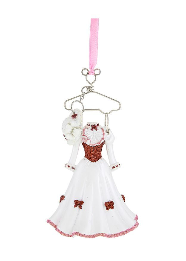 decorate your tree with this adorable mary poppins ornament her outfit is hanging on a cute mickey mouse icon hanger along with her hat disney parks - Disney Christmas Ornaments