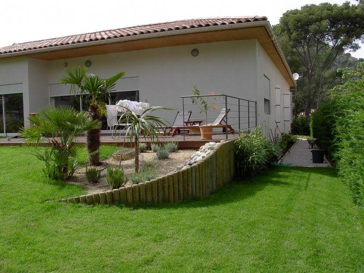 Aménagement d'une butte ou terrain en pente à Puyricard proche Aix - Jardinier paysagiste Aix-en-Provence - Iris Jardin