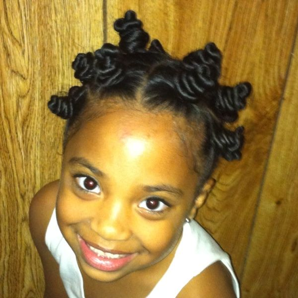 natural black hairstyles | Cute Bantu Knots! | Black Women Natural Hairstyles