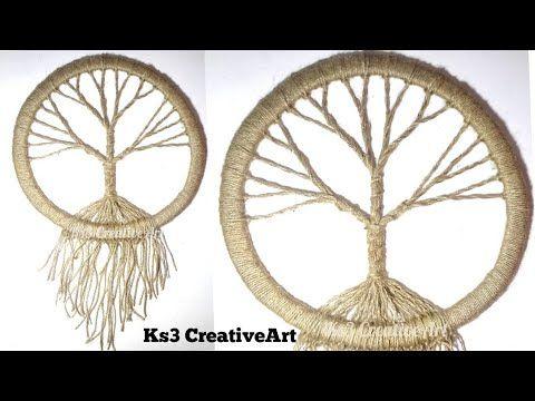 DIY Vintage tree Dream Catcher by Ks3 CreativeArt is today's tutorial. We ha…