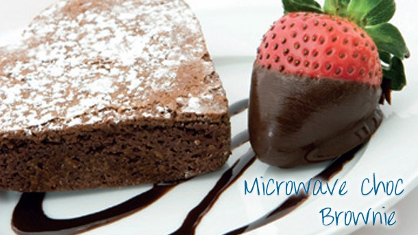 Microwave Chocolate Brownie | New World Supermarket