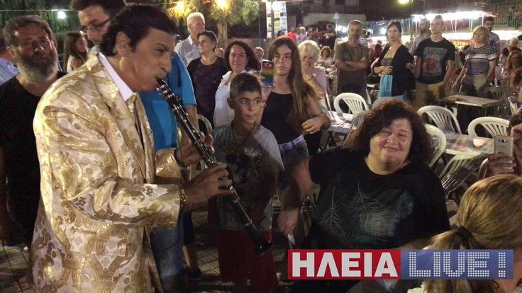 ilialive.gr - Ο Γ. Μάγκας Live από το καμπαναριό της εκκλησίας