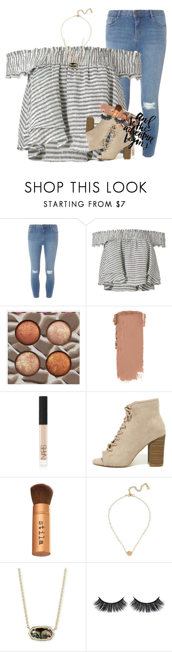 """gnash"" by ellaswiftie13 on Polyvore featuring Dorothy Perkins, Apiece Apart, BHCosmetics, NARS Cosmetics, Madden Girl, Stila, PAM, BaubleBar, Kendra Scott and Battington"
