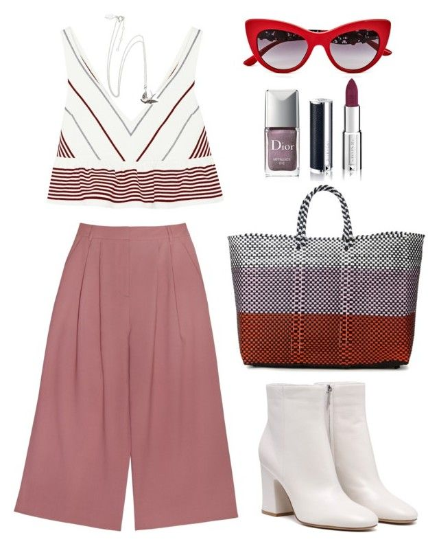 """""""Donna"""" by elshakalaka on Polyvore featuring TRUSS, Elizabeth and James, Dolce&Gabbana, Christian Dior and Givenchy"""