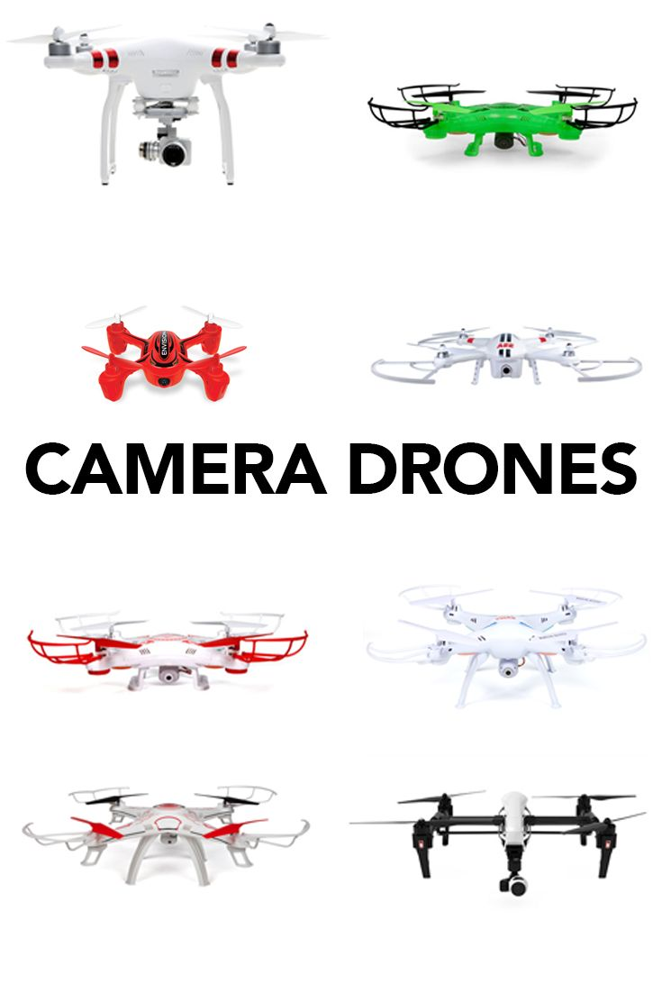 Capture your best moments from the sky with a new Camera Drone!