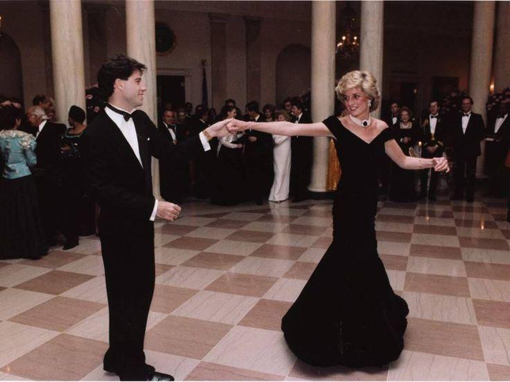 John Travolta & Lady Diana