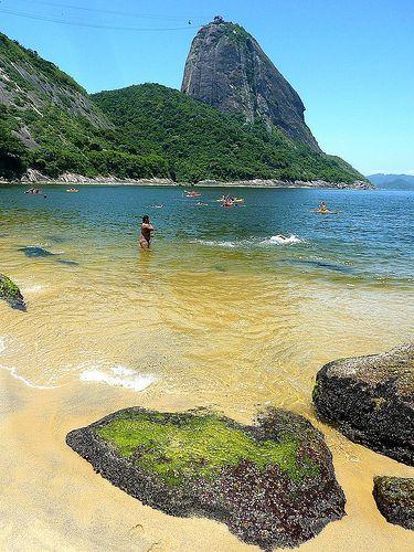 Praia Vermelha, Rio de Janeiro, Brasil
