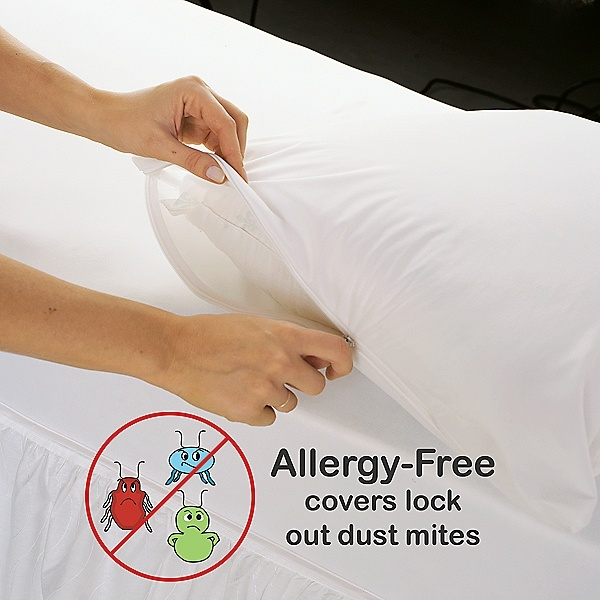 17 best images about baby need to knows on pinterest kid for Dust mite allergy pillow cover