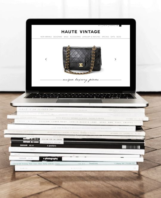 haute vintage branding 13
