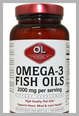 Olympian Labs Omega 3 Fish Oils Softgels Super Size, 240ct - Price History