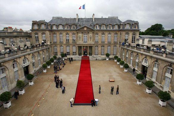 Elysée Palace in Paris