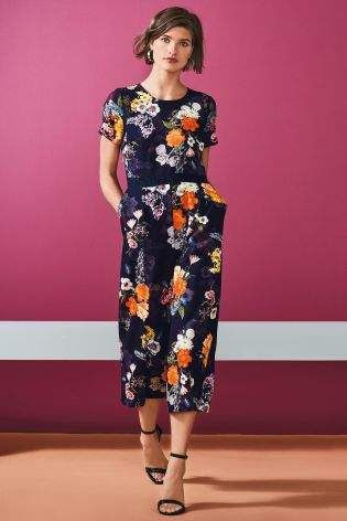 2cae3bf7f0a Buy Print Culotte Jumpsuit from the Next UK online shop