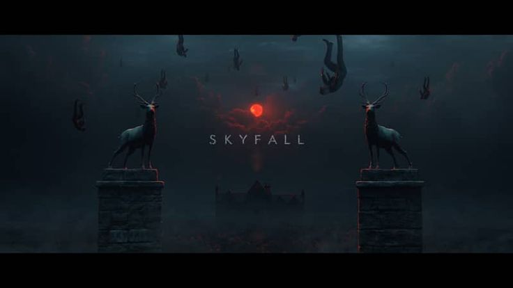"VimeoHomage to ""Skyfall"" title sequence"