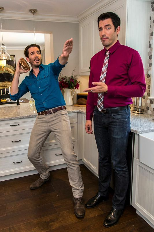 Do you think i missed my calling as an nfl quarterback Drew jonathan property brothers