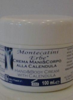 Crema mani&corpo alla Calendula 100 ml.