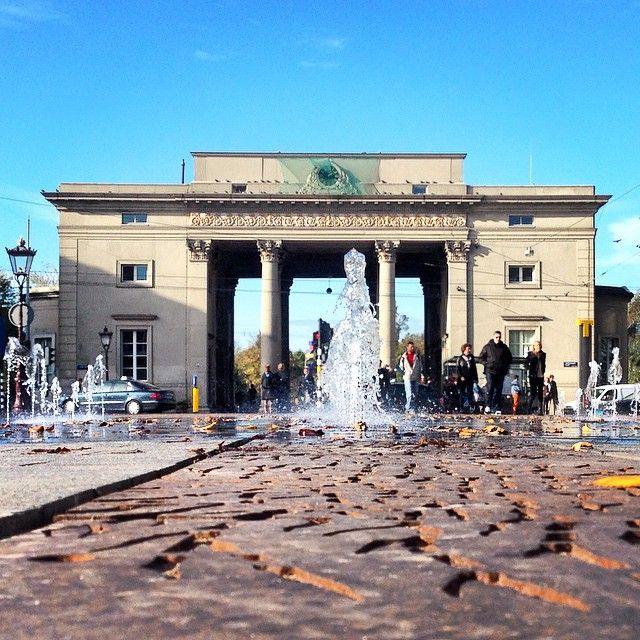 Dancing Fountain #Amsterdam #Haarlemmerplein
