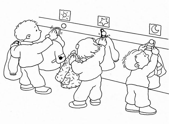 Dibujos para colorear sobre normas de convivencia en el aula - Imagui
