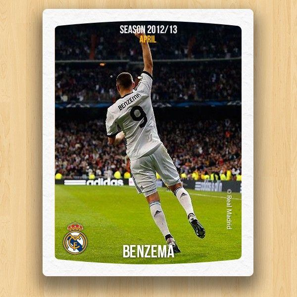 Real Madrid Collections - Benzema