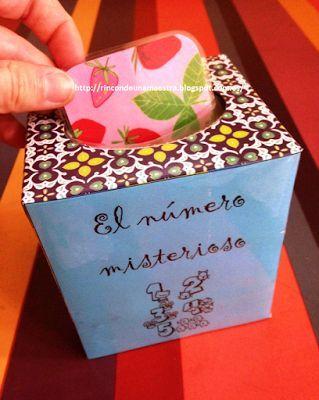 Rincón de una maestra: El número misterioso