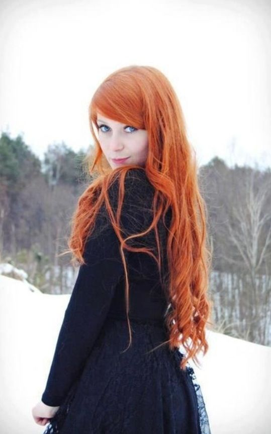 ginger girl hair redhead beauty pinterest her hair