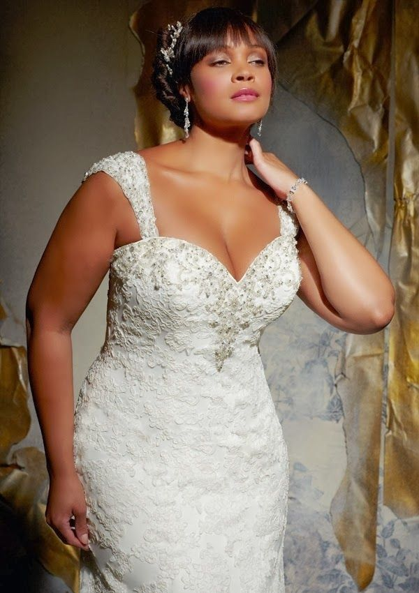 Plus size wedding dresses from julietta by mori lee for Wedding dresses for big busted women