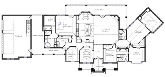 Best 25 texas house plans ideas on pinterest dream for Texas ranch house plans with porches