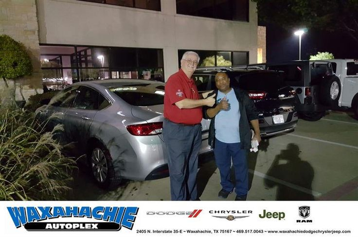 https://flic.kr/p/PxWi2a   Happy Anniversary to Sanford on your #Chrysler #200 from Mike White at Waxahachie Dodge Chrysler Jeep!   deliverymaxx.com/DealerReviews.aspx?DealerCode=F068