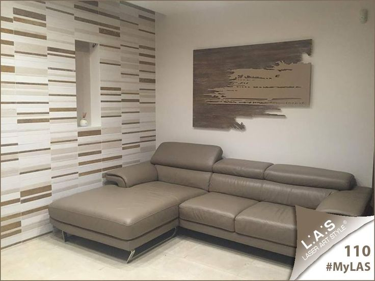 #MyLAS Welcome to Lucia's #home! #livingroom #design #homeinspiration #interiors #elegance http://www.laserartstyle.it/home/gallery/my-las/ ABSTRACT WALL SCULPTURES | CODE: SI-258 | SIZE: 150x100 cm | COLOUR: industrial stucco decoration - hazel