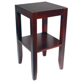 Buy solid wood end telephone table wenge from our - Table de telephone ...
