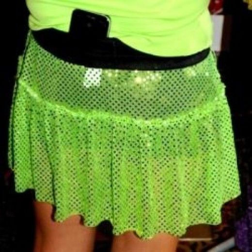 Runners, especially women runners, are embracing sparkly and glittery running skirts as a way of adding some fun and of course sparkle into everyday running and race runs.  I was inspired by the price tags on these sparkly skirts ($ 25.00 for a...