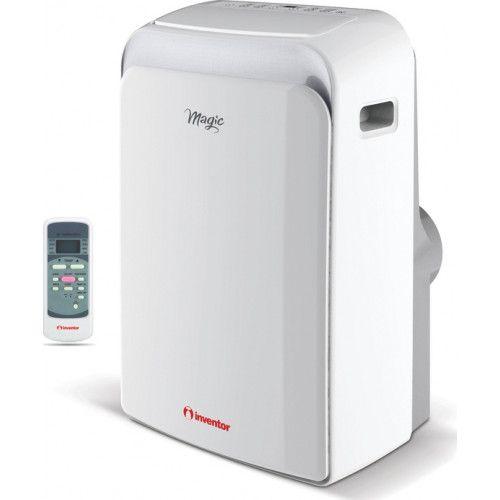 INVENTOR MAGIC ΚΛΙΜΑΤΙΣΤΙΚΑ ΦΟΡΗΤΑ - saveit.gr - Ψυκτική Απόδοση (Btu/h) 11.942 Ψυκτική Απόδοση (kWatt) 3.5 Θερμική Απόδοση (Btu/h) 9.895 Θερμική Απόδοση (kWatt) 2.9 Ενεργειακή Κλάση (Ψύξη/Θέρμανση) A / A+ EER 2.6 COP 2.6 Τάση/ Συχνότητα/ Φάση (V/Hz/Ph) 230/50/1 Ρεύμα Λειτουργίας (Α) Ψύξη / Θέρμανση 5 / 5.9 Κατανάλωση (W) Ψύξη / Θέρμανση 1.350 / 1.350 Παροχή Αέρα (m3/h) (Υψηλή/Μέση/Χαμηλή) 425/365/340 Ικανότητα Αφύγρανσης (L/h) 1.2 Στάθμη Θορύβου (dB(A)) (Χαμηλή/Μέση/Υψηλή) 52.4/52.7/53.7…