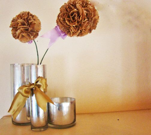 Lunch bag hydrangeas: Bags Hydrangeas, Brown Paper Bags, Crafts Ideas, Paper Bags Crafts, Paper Flower, Lunches Bags, Brown Bags, Paper Bags Flower, Lunch Bags