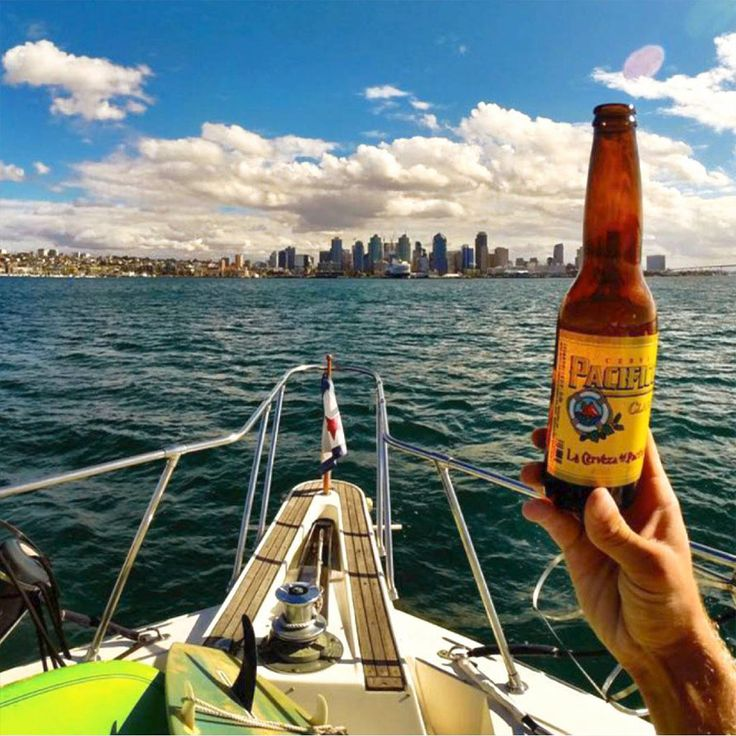 Pacifico Beer Excited by their find, the story goes, the wandering surfers loaded up a few cases of the rich golden lager into their van and returned north, becoming the first importers of Pacifico. Back in Southern California, the Baja-born cerveza gained a passionate following among surfers who journeyed south for the breaks, and returned with a beer well worth the trip.