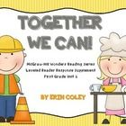 McGraw-Hill Wonders Leveled Reader Response Unit 6: Together We Can! (1st Grade)