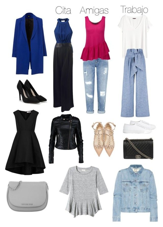 """fondo"" by pattyzgz on Polyvore featuring moda, LE3NO, Karl Lagerfeld, Miss Selfridge, French Connection, H&M, MSGM, CHARLES & KEITH, Joseph y Halston"