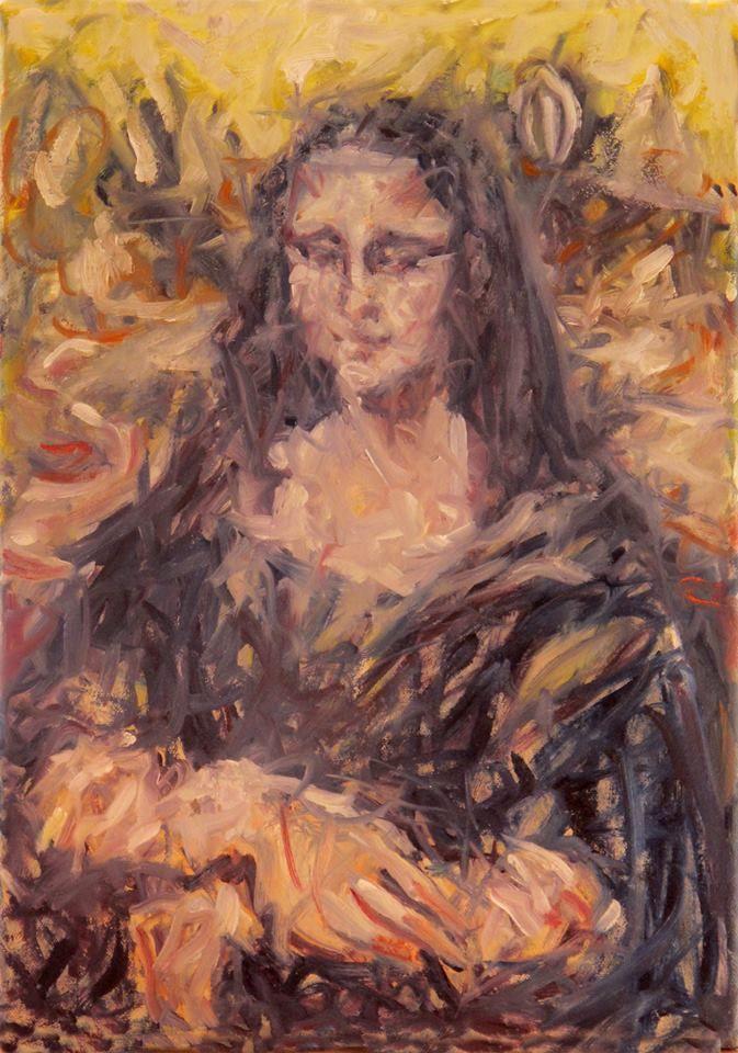 Mona Liza by ChristinRoussi on deviantART