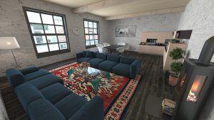 Anche posizionare tappeti in zone funzionali della stanza può farla apparire più grande, soprattutto se di colori che non contrastano quelli del pavimento. Attenzione: no ai tappeti troppo piccoli!