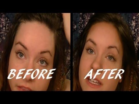 Make a big forehead look smaller in seconds with this quick makeup tutorial!