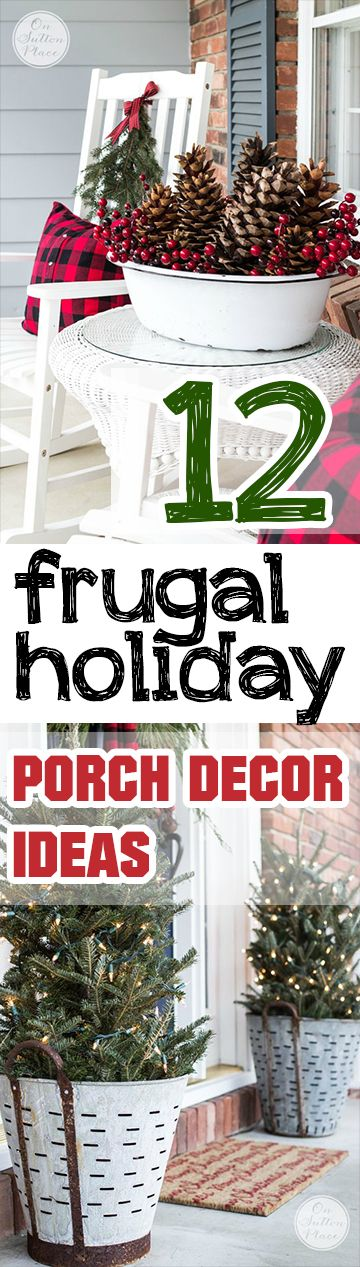 Porch Christmas Decorating Ideas best 25+ christmas porch decorations ideas only on pinterest