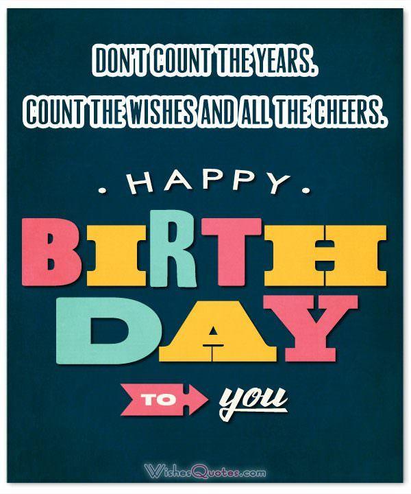 Inspirational Happy Birthday Card